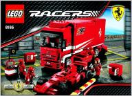 LEGO 8185 Ciężarówka Ferrari