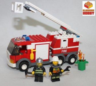 Lego City Straż Pożarna Wóz Straży Fig Zestawy 6544004554