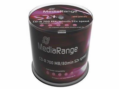CD-R MediaRange C100 700MB x52