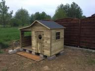 drewniany domek nowy śląskie