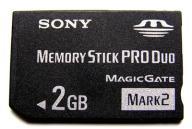 SONY MEMORY STICK PRO DUO 2GB MARK 2 GWARANCJA