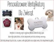 identyfikatory dla zwierzat - personalizacja