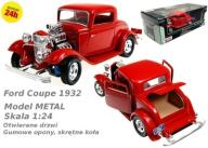 FORD Coupe 1932MOTORMAX  Model METAL 1:24 Kurier