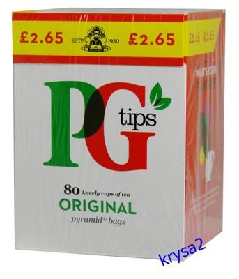 Angielska Herbata PG 80 tor. piramidek 232g