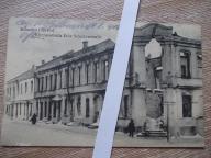 Szawle Litwa ulica ruiny