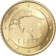 10 Euro cent Estonia 2011r