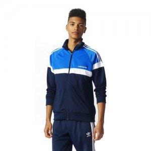 Bluza meska Adidas Originals SST bomber niebieska blue