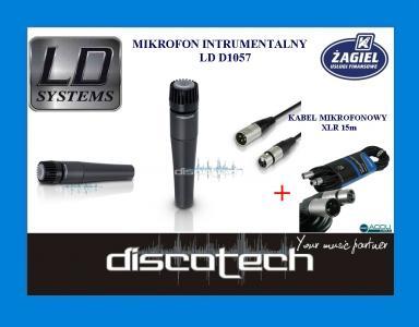 Ld Sys D 1057 Instrumentalny Mikrofonxlr 15 M Dt 5082059917