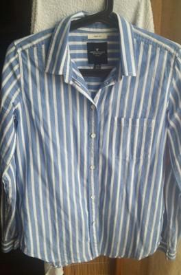 Koszula American Eagle paski XsS Wawa 6688722042  eD120