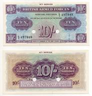 WIELKA BRYTANIA / ARMED FORCES 1962 10 SHILLINGS