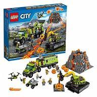 LEGO CITY Baza Badaczy Wulkanów 60124 klocki