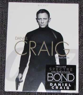 4xBlu-Ray: Daniel Craig Collection - BOND 007