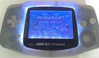 Gameboy Advance Podświetlany Frontlight SZKŁO !!