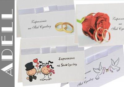 Zaproszenie Zaproszenia Na ślub Cywilny 6297121952 Oficjalne