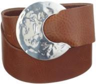 MGM Women's 950-5427 Belt, Braun (Cognac), 44 (Man