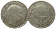 22.WĘGRY, FRANC.JÓZEF, 1 KORONA 1893