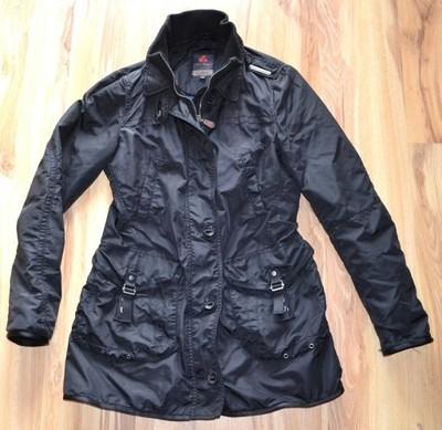 PEUTEREY czarna wiosenna damska włoska kurtka 40