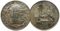 10.WŁOCHY, 500 LIRÓW 1989 KOLUMB '1492