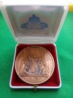 Medal Religijny ROMA Rok Święty ANNO 1975 w etui