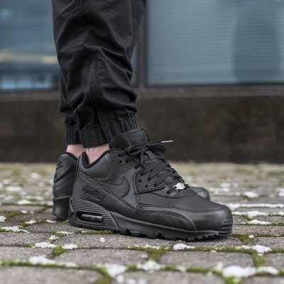 BUTY NIKE AIR MAX 90 LEATHER 302519 001 ORYGINALNE