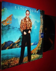 ELTON JOHN /RAY COOPER - CARIBOU LP THE BITCH IS .