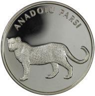 Turcja 20 Lira 2005 - Lampart Anatolisjki