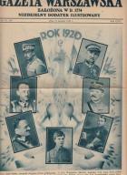 Gazeta Warszawska(dodatek) - wojna 1920r