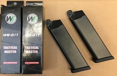 Zestaw 2 magazynki do WE-G17/G18/G34/G35 nowe