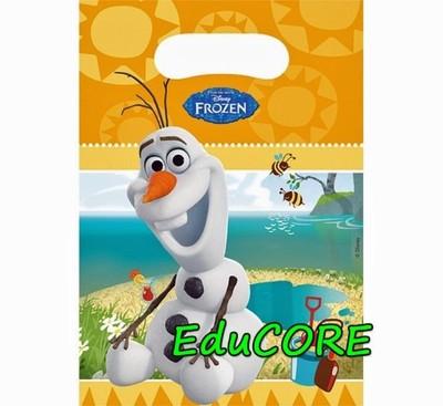 FROZEN OLAF torebki na prezenty 6 sztuk EduCORE