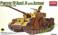 PANZER IV AUSF.H WITH ARMOR 1:35 ACADEMY 13233