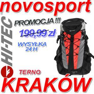 f46e67678c043 PLECAK TURYSTYCZNY HI-TEC TERNO 35 L - CZERWONY - 5220418507 ...