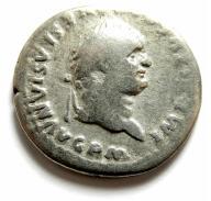 AC- TYTUS (79-81), srebrny denar, DELFIN, 80r. !++