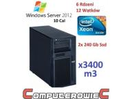 WIN 2012 STD 10CAL+ SERWER IBM 3GHZ SIX 16GB SSD