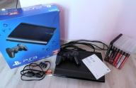 PS3 60GB SUPER SLIM + komplet 8 GIER okazja!