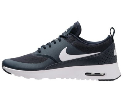 sports shoes b7434 17ef9 nike air max thea biało czarne