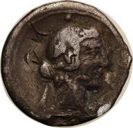 Rzym - Republika AR-denar Q. Titius 90 r.p.n.e. s3