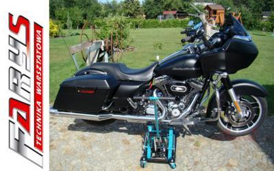 PODNOŚNIK HYDRAULICZNY MOTOCYKLOWY ATV 680kg +PASY
