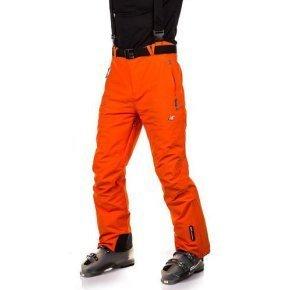 4f spodnie narciarskie pomaranczowe