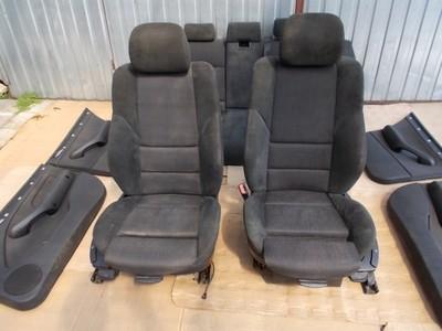Fotele Alkantara Sport M Pakiet Bmw E46 Kombi 6887943466