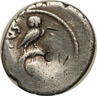 Rzym - Republika AR-denar Mn Cordius Rufus 46 pne