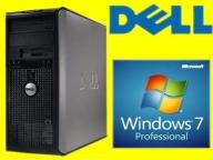 DELL 755 TOWER C2D 2X2330 2GB 80 DVD WIN 7 PRO PL