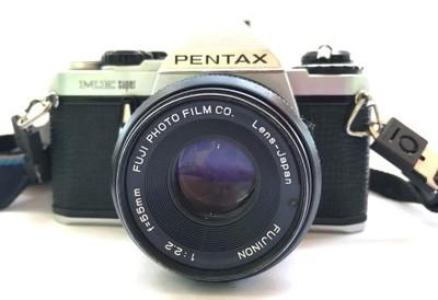 Pentax ME Super + Fujinon 2.2/55