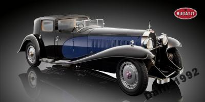 Bugatti Royale Coupe de Ville 1:18 BLUE
