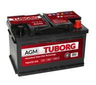 AKUMULATOR TUBORG START STOP AGM 70AH 760A P+
