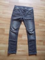 Czarne męskie jeansy slim fit r.L mex r.31 Bershka