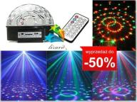 KULA DYSKOTEKOWA LED Disco MP3 PILOT+ PENDRIVE