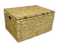 Kuferek skrzynia pojemnik z hiacyntu 52x37x27,5 cm