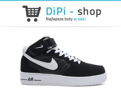 Nike Air Force 1 MID 315123 020 Czarne r. 40 47