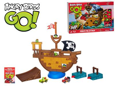 Gra Hasbro Angry Birds Go Jenga Statek A6439 4513853006 Oficjalne Archiwum Allegro