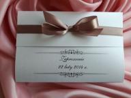 Zaproszenia ślubne Anna3 na SREBRNYCH PAPIERACH